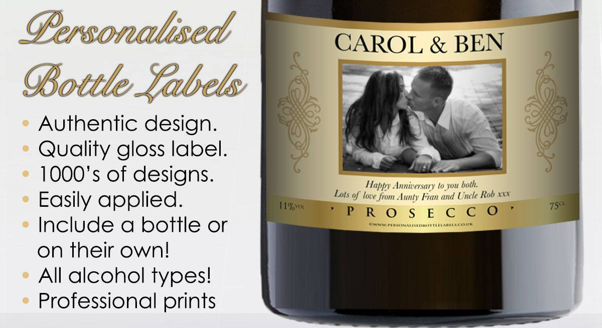 Personalised Prosecco