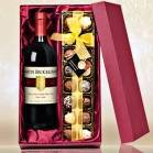 Personalised Alcohol and Chocolates Gift set