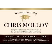 Graduation - Personalised Champagne