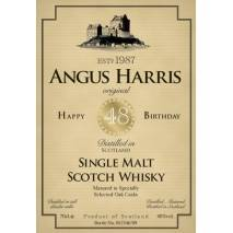 Birthday Gift - Personalised Malt Whisky Label