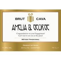 Authentic Style - Personalised Cava