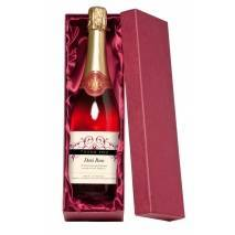 """Personalised """"Thank You"""" Sparkling Rosé Wine"""