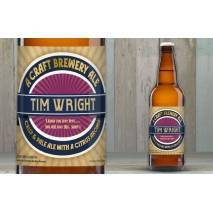 Personalised Contemporary Craft Beer