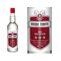 Red Shield - Personalised Vodka with a Newspaper from your date