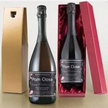 Personalised Prosecco - Mother's Day Flowers Label