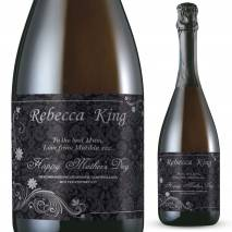 Personalised Prosecco - Mother's Day Ornate Label