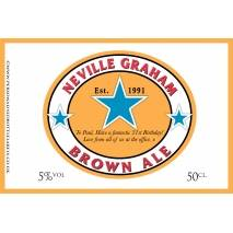 Personalised Brown Ale Label For Any Occasion