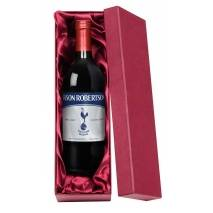 Tottenham Hotspur FC  Red Wine Spurs Vintage Label