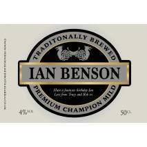 Personalised Craft Mild Label For Any Occasion