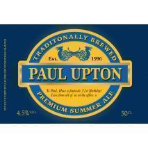 Personalised Craft Summer Ale Label For Any Occasion
