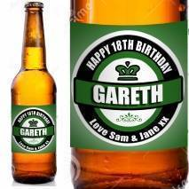 Green style Personalised Beer
