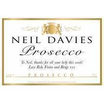 Personalised Classic Prosecco Label