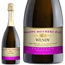 Personalised Mothers Day Prosecco