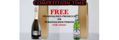 *WIN* THIS PERSONALISED PROSECCO OR PERONI Facebook competition!