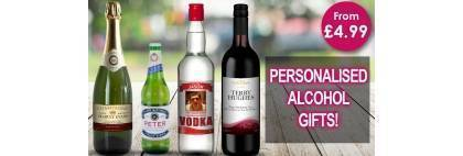 Personalised Bottle Labels and Alcohol Video
