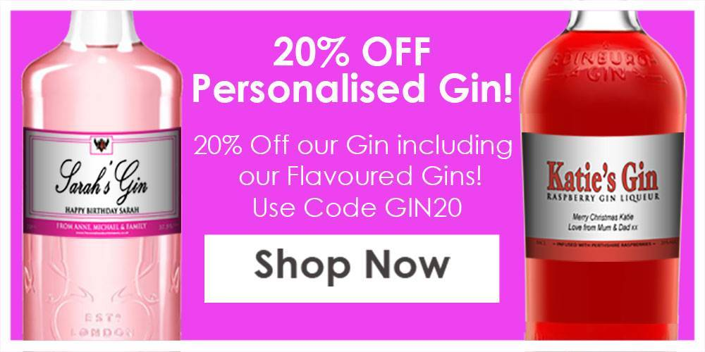 Personalised Gin Discount