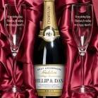 Personalised Champagne and Engraved Flutes