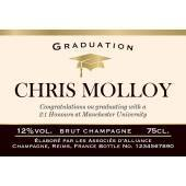 Graduation - Personalised Champagne Label