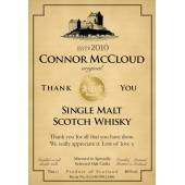 Thank You - Personalised Malt Whisky Label