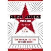 Red Star - Personalised Vodka Label
