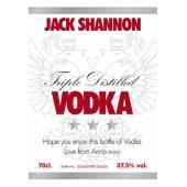 White Label - Personalised Vodka Label