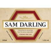 Personalised Beer traditional label