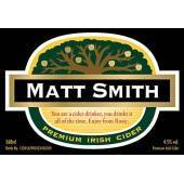 Personalised Cider traditional Label