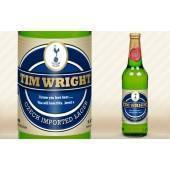 Personalised Tottenham Hotspur Lager with modern label