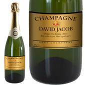 Personalised Gold Champagne