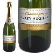 Personalised Goodbye Good Luck Champagne