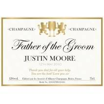 Authentic - Wedding - Personalised Champagne