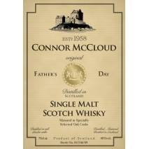 Father's Day Gift Personalised Malt Whisky Label