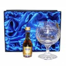 Crystal & Brandy Gift Set