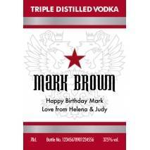 Classic Style - Personalised Vodka