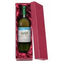 Fishing - Personalised Father's Day White Wine