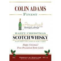 Personalised Whisky Blend Corporate Christmas