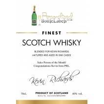 Personalised 'Classic' Blended Whisky