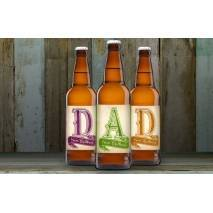 Personalised D-A-D Set Three Pack Craft Beer