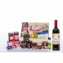 Christmas Hamper with Wine