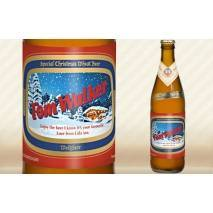 Personalised Bottle of Christmas Wheat Beer