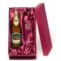 "Personalised ""Cheers"" Cider Gift Set"