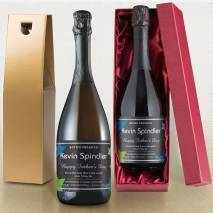 Personalised Prosecco - Father's Day Stars Label