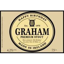 Personalised Premium Stout Label For Any Occasion