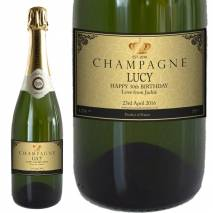 Personalised Champagne - Original with Date