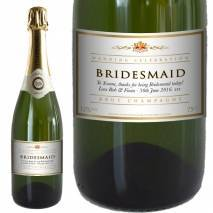 Personalised Wedding Celebration Champagne