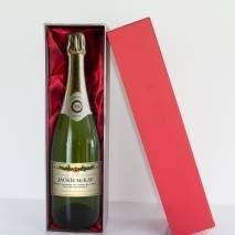 Personalised Christmas Champagne - Cream