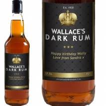 Personalised Rum - Black