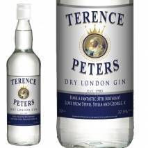 Personalised Gin - Traditional Blue