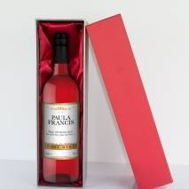 Personalised Rosé Wine - Gold + White