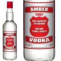 Personalised Vodka - Classic